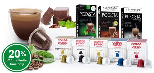 Get 20% OFF New Gourmet Coffee & 