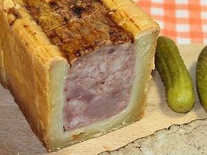 Picture of Crusted Pâté (Pâté en croute)