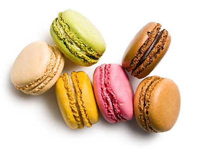 Free Box of Macarons per Bottle  of Piper Hiedsieck Champagne