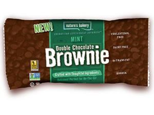 Picture of Mint Double Chocolate Brownie Bar