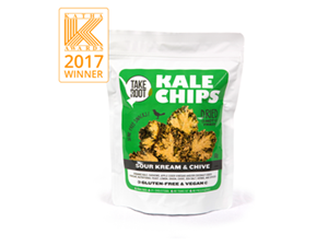 Picture of Kale Chips - Sour Kream & Chive