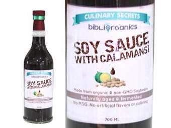 Organic Soy Sauce with Calamansi