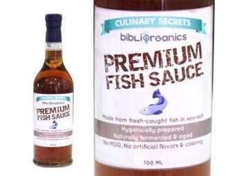 Organic Premium Fish Sauce (Patis)