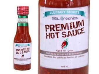Organic Premium Hot sauce