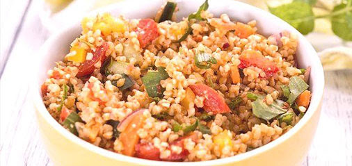 Healthy Hearty Bulgur Salad