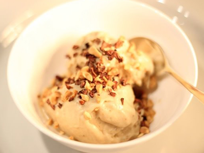 Dairy-Free Smooth Peanut Butter Ice Cream Recipe