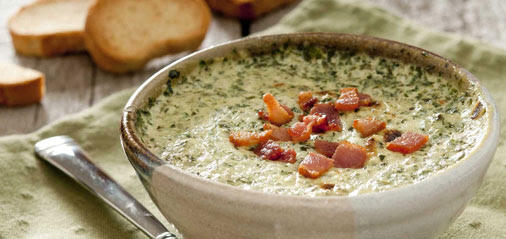 Easy Delicious Spinach Dip Recipe