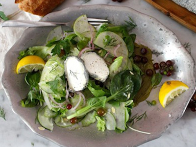 Sainte-Maure's Green Salad Recipe