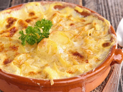 Gratin and Raclette Recipe