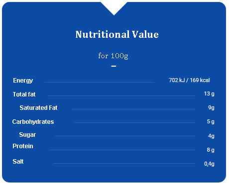 Galbani Ricotta Cheese Nutrition Facts