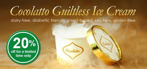 Guiltless Ice Cream Cocolatto is Back: Get 20% OFF for Easter!