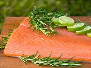 Picture of Whole Salmon Fillet (skin on)