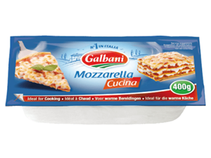 Picture of Fresh Mozzarella for Cooking - Galbani