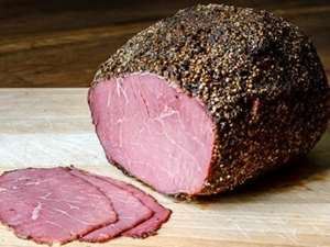 Picture of Beef Pastrami slices