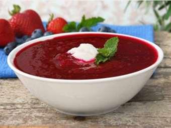 Picture of Frozen Raspberry Fruit Purée