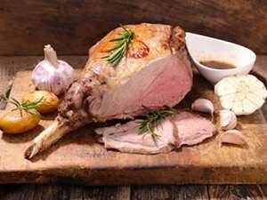 Picture of Lamb Leg (bone in)