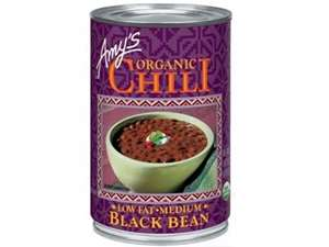 Picture of Organic Black Bean Chili