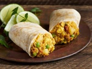 Picture of Organic Indian Samosa Wrap