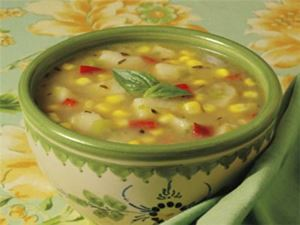 Picture of Summer Corn & Vegetable Soup