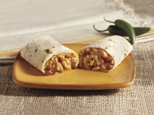 Picture of Organic Bean & Cheese Burrito