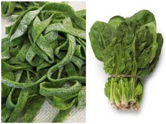 Picture of Healthy Spinach Fettuccine