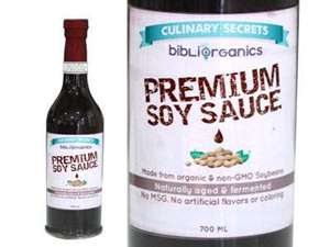 Picture of Organic Premium Soy Sauce