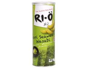 Picture of Thai Jasmine Rice Snack - Nori Wasabi
