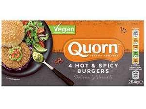 Picture of Quorn Vegan Hot & Spicy Burger