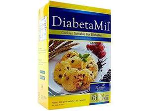 Picture of DiabetaMil® Vanilla Dried Fruit Cookies