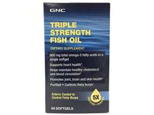 Picture of GNC Triple Strength Fish Oil