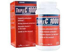 Picture of GNC Triple C 1000 - 180 Tablets