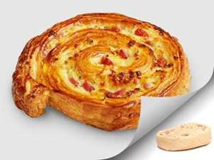 Picture of Ham & Cheese Swirl Dough