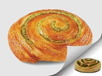 Picture of Pesto Swirl Dough