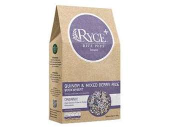 Picture of Quinoa & Mixed Berry Rice Blend with Buckwheat