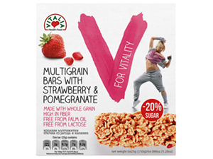 Picture of Multigrain Cereal Bar Strawberry & Pomegranate