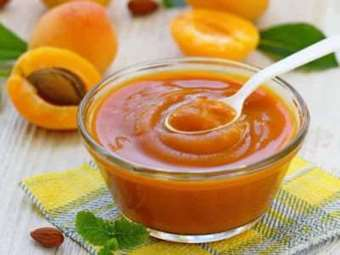 Picture of Frozen Apricot Fruit Purée