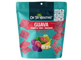 Picture of Fruit Crisps  Guava Ube Banana - Oh So Healthy