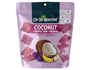 Picture of Fruit Crisps Purple Yam Banana Coconut - Oh So Healthy