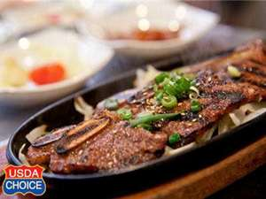 Picture of USDA Choice Korean Barbecue Short Ribs