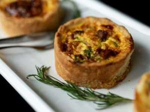 Picture of Salmon & Broccoli Quiche - Individual Size