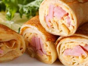 Picture of 2 Ham & Cheese Crepes