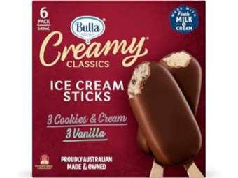 Picture of Creamy Classic Vanilla and Cookies & Cream