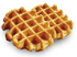 Picture of 4 Belgian Liege Waffle