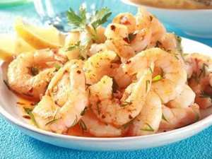 Picture of Peeled Vannamei Shrimps