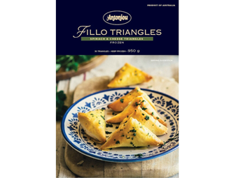 Picture of Spinach & Cheese Triangles