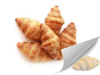Picture of 12 Mini Butter Croissants